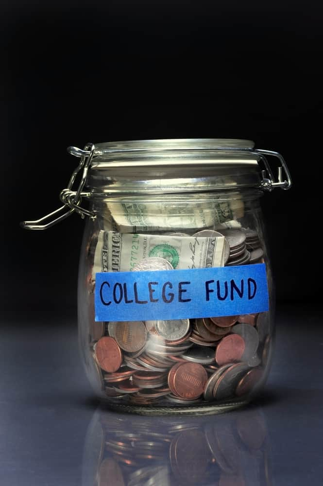 my college fund jar!