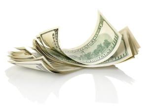 curled dollars