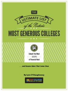 Green List Most Generous Schools