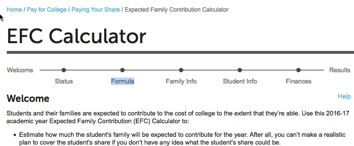 10 things you need to know about expected family contributions the