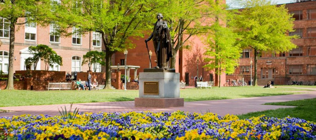 George Washington University's college ranking