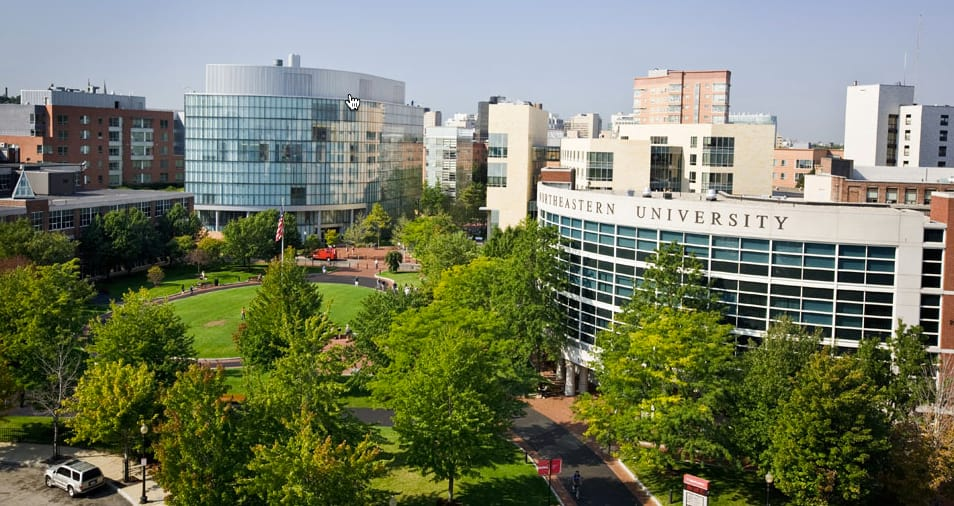Northeastern University college ranking
